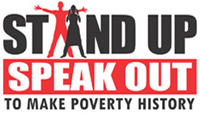Stand Up and Speak Out To Make Poverty History